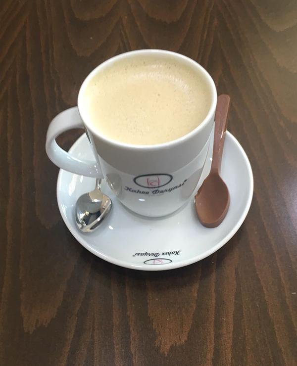 Oreo Hot Coffee